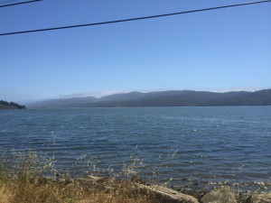 Tomales Bay at Point Reyes Station, CA